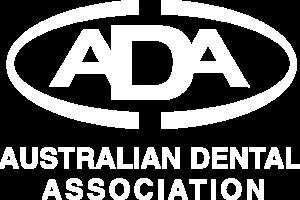 ADA logo white